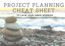 Project Planning Cheat Sheet -A list of things to consider when you start your IT project #projectmanagement https://projectbliss.net/project-cheat-sheet/