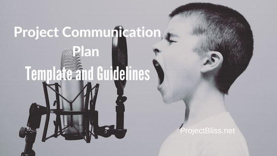 project communication plan template