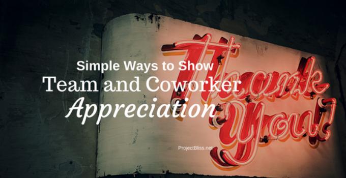 coworker appreciation