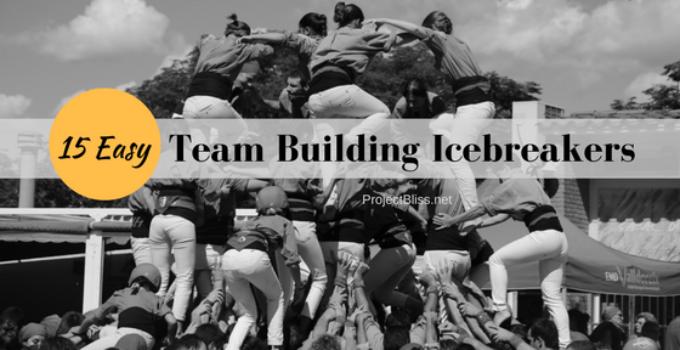 team building icebreakers for meetings