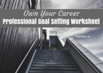 Professional Goal Setting Worksheet
