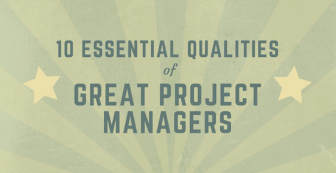 qualities of project managers