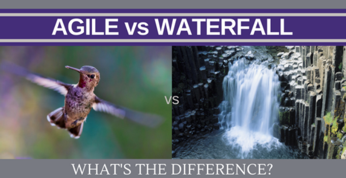 agile vs waterfall methodology