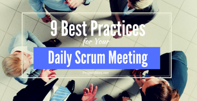 daily scrum meeting best practices