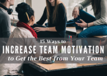 increase team motivation
