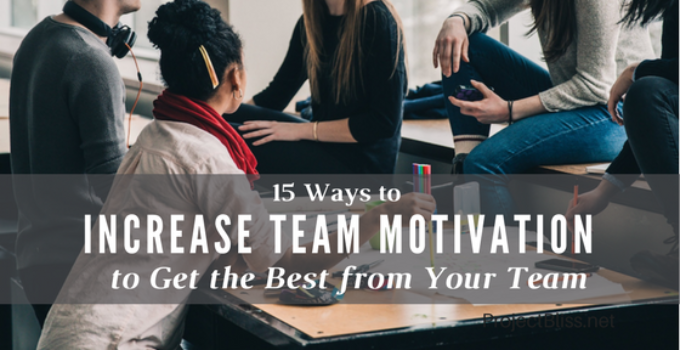 increase team motivation