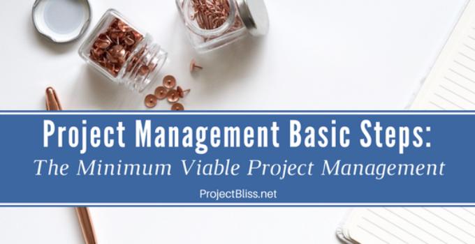 project management basic steps