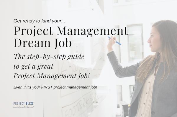 project management dream job